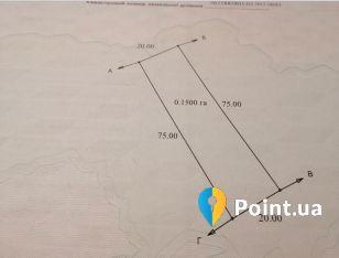 Земельна ділянка під забудову у с. Павлівка, 7км від Івано-Франківська