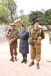 Prezentacja mundurów wojskowych.......