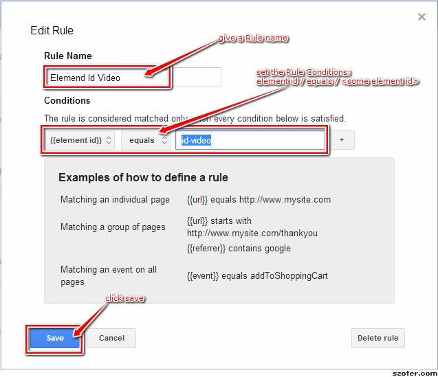 Google tag Manager - Add Element Identification