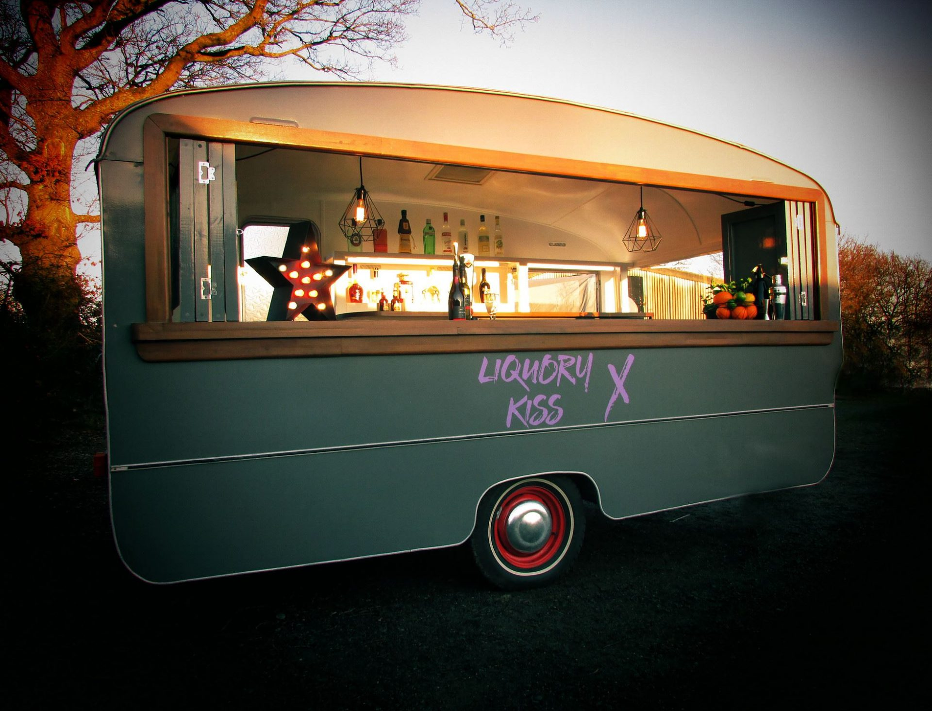 Food van for wedding catering