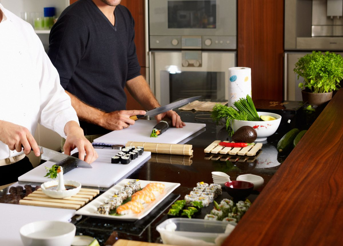 Sushi Lesson as Wedding Gift Idea