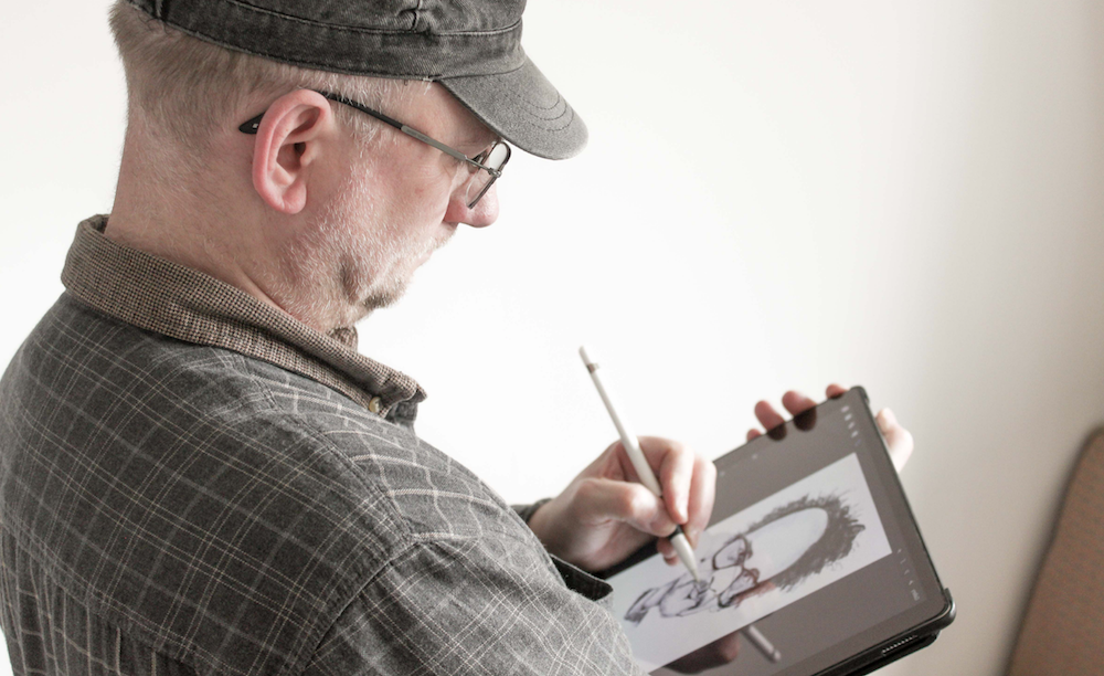 caricature artist for hire in London