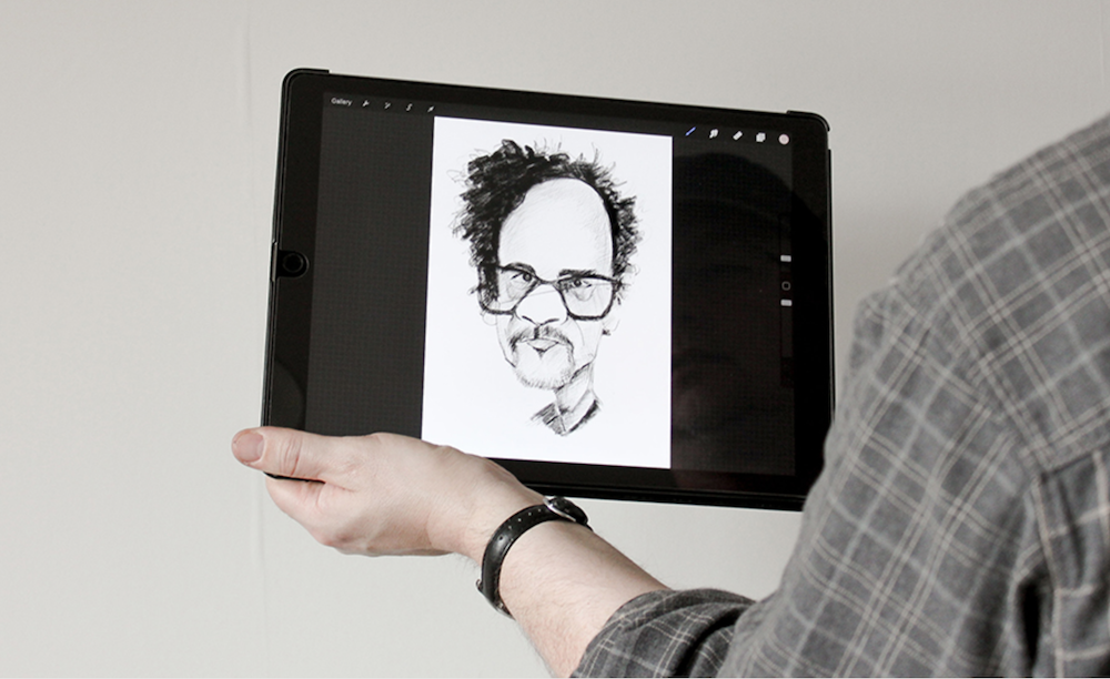 caricature artist for hire in Bristol