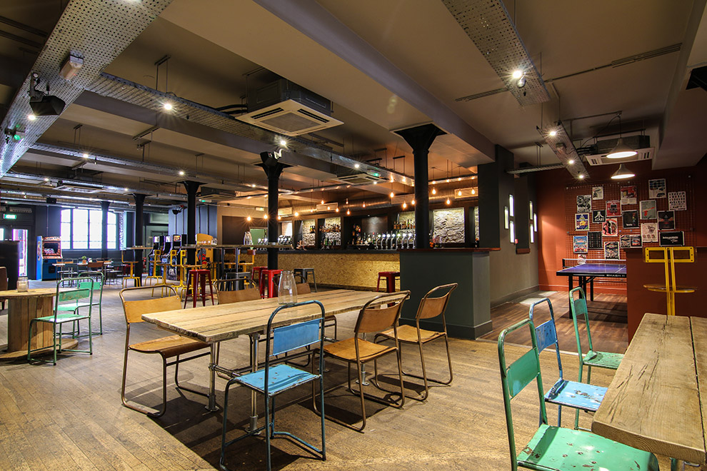 Kongs of King Street Bells Diner Bar Rooms for Private Dining in Bristol