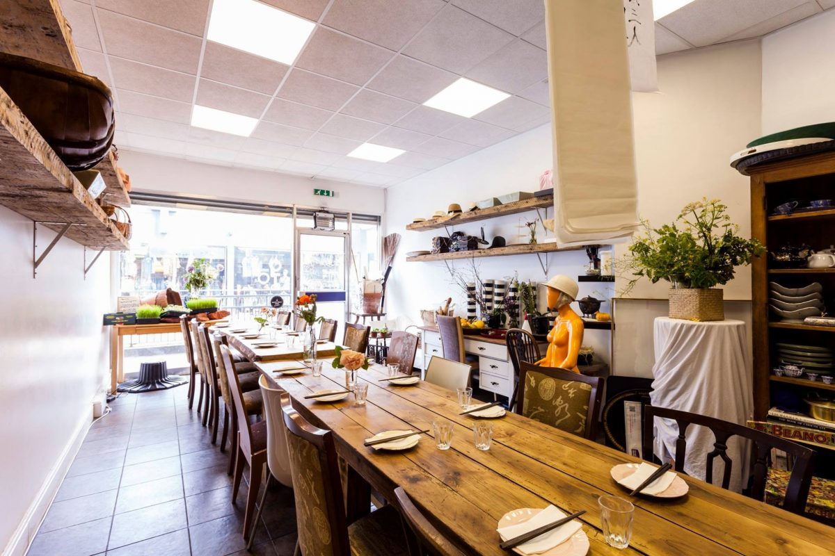 Sky Kong Kong Bells Diner Bar Rooms for Private Dining in Bristol