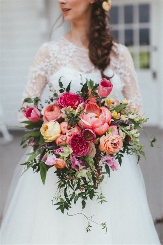 Сolorful wedding bouquet