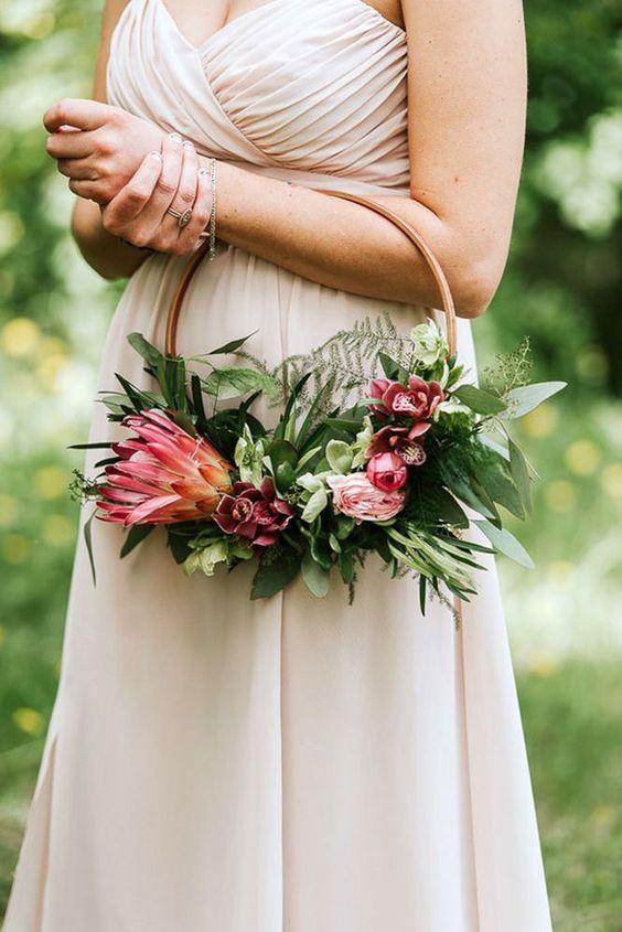 Hanging wedding Bouquet