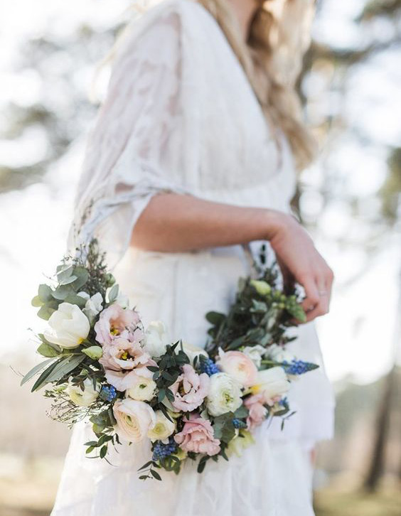 Hanging bridal Bouquet