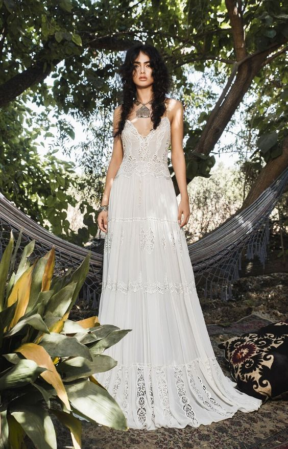 boho wedding dress ideas