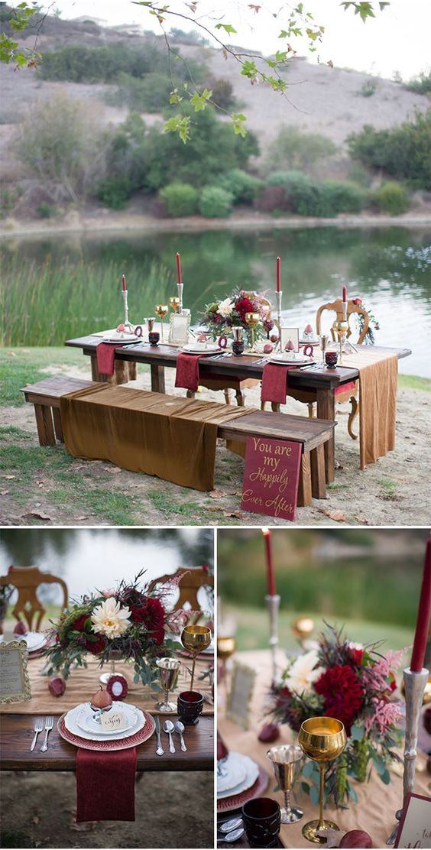 romantic vintage proposal idea