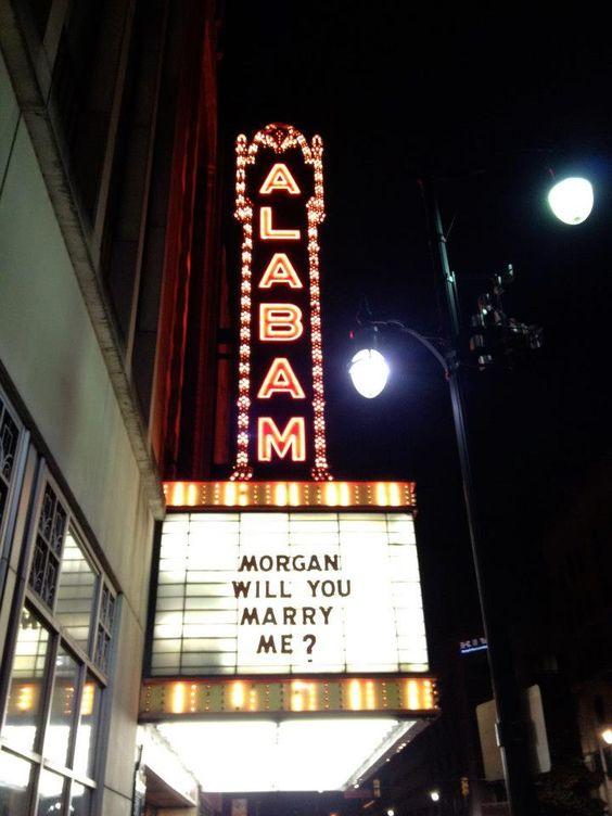 cinema sign proposal idea