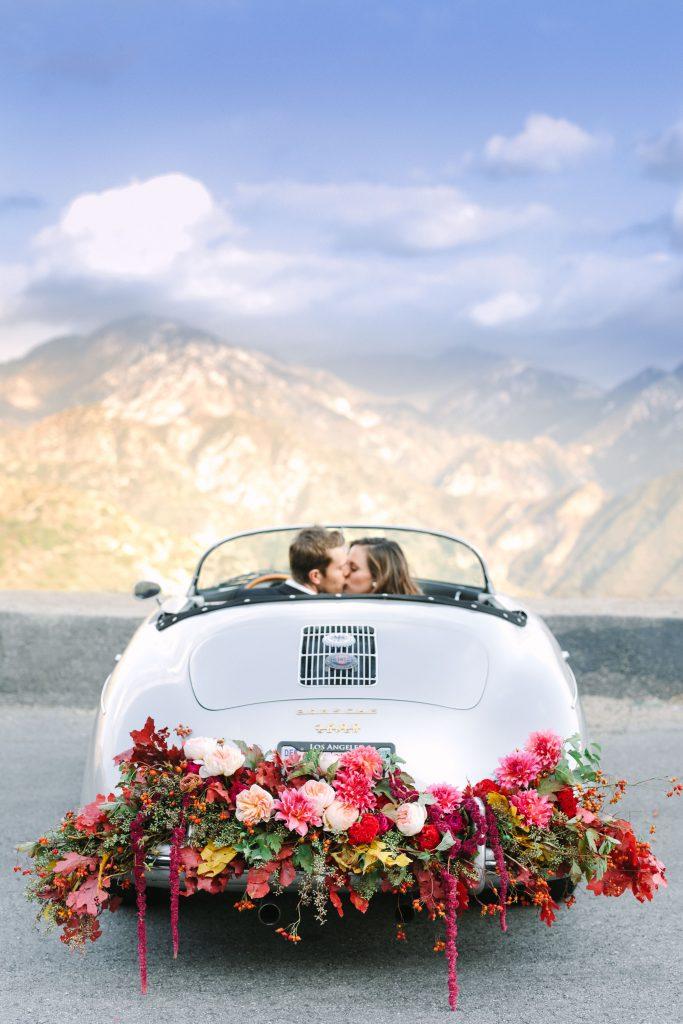wedding car flower decoration ideas