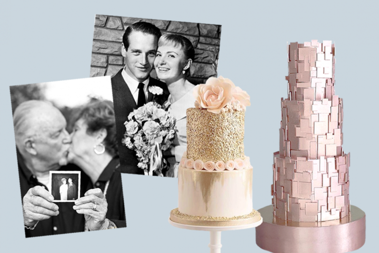 50th Anniversary Cake Ideas Archives Poptop Event Planning Guide