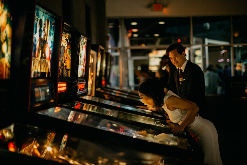 wedding entertainment arcade