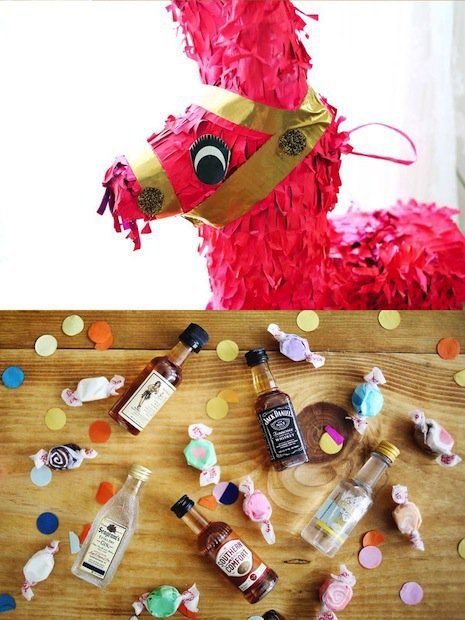 the piñata for hen party
