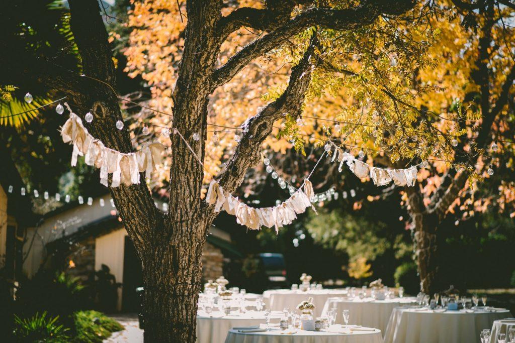 wedding venue decorations