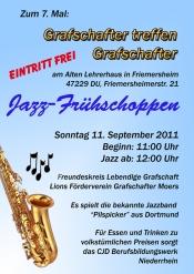 Jazz-Frühschoppen Grafschafter treffen Grafschafter