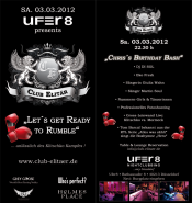 "Elitär ""Let´s Get Ready To Rumble"" Party Düsseldorf"