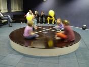 Teufelsrad - Vorführung im Experiminta Science Center