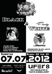 Elitär Black & White Party Düsseldorf