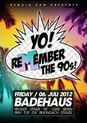 "Party im Badehaus Szimpla: ""Yo! Remember the 90s"" | 90s Hip Hop"
