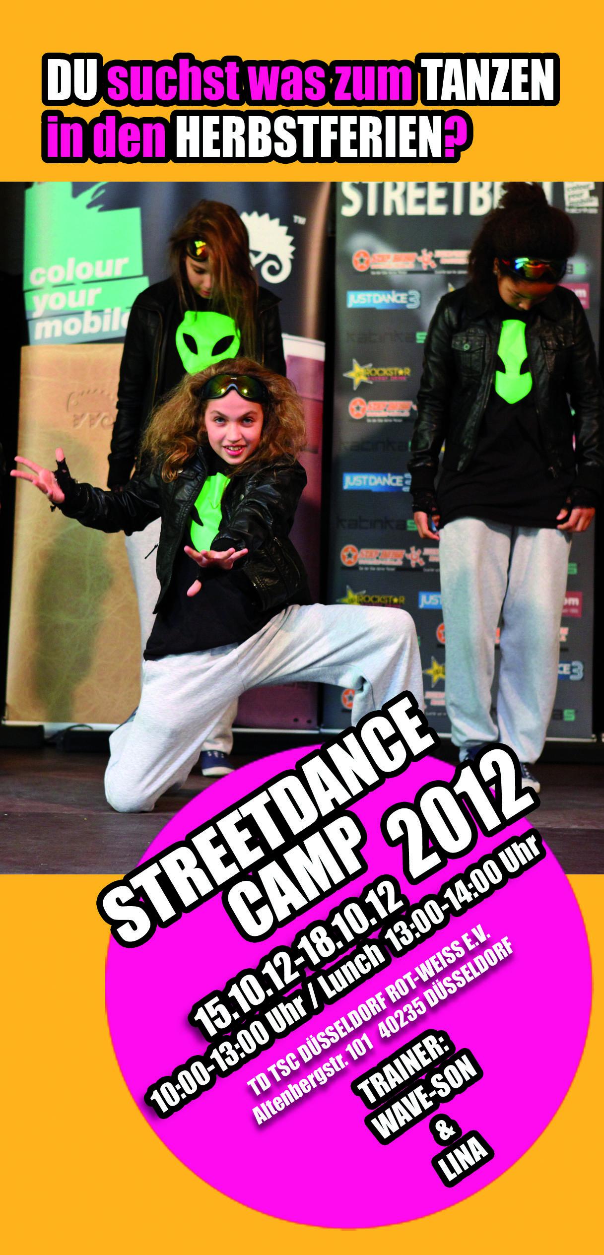 Streetdance Camp 2012