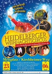 15. Heidelberger Weihnachtscircus: modern, akrobatisch, tierisch und humorvoll