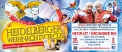 16. Heidelberger Weihnachtscircus mit neuem Programm