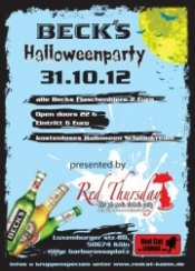 Beck´s Halloweenparty