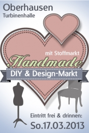 Handmade Markt - DIY, Design- und Stoffmarkt - Oberhausen