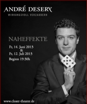 Zaubershow André Desery - Naheffekte