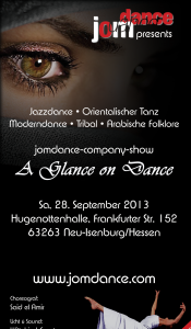 *A Glance on Dance* — Orientalische Tanzshow der Spitzenklasse