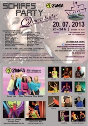 "Schiffsparty ""Quiero Bailar"" meets Zumba®Fitness"