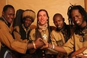 """Songs & Whispers"" Circuit 08/2013: Jeconte & The Mali Allstars (Usa, Mali), Lewis Knudsen (Usa)"