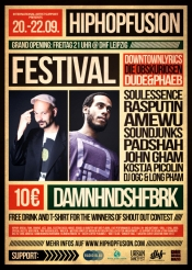 Hip Hop Fusion Festival / Grand Opening 2013