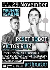 Techno Con Carne Mit Reset Robot & Victor Ruiz