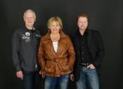 Live on stage ... Velvet Sky Trio