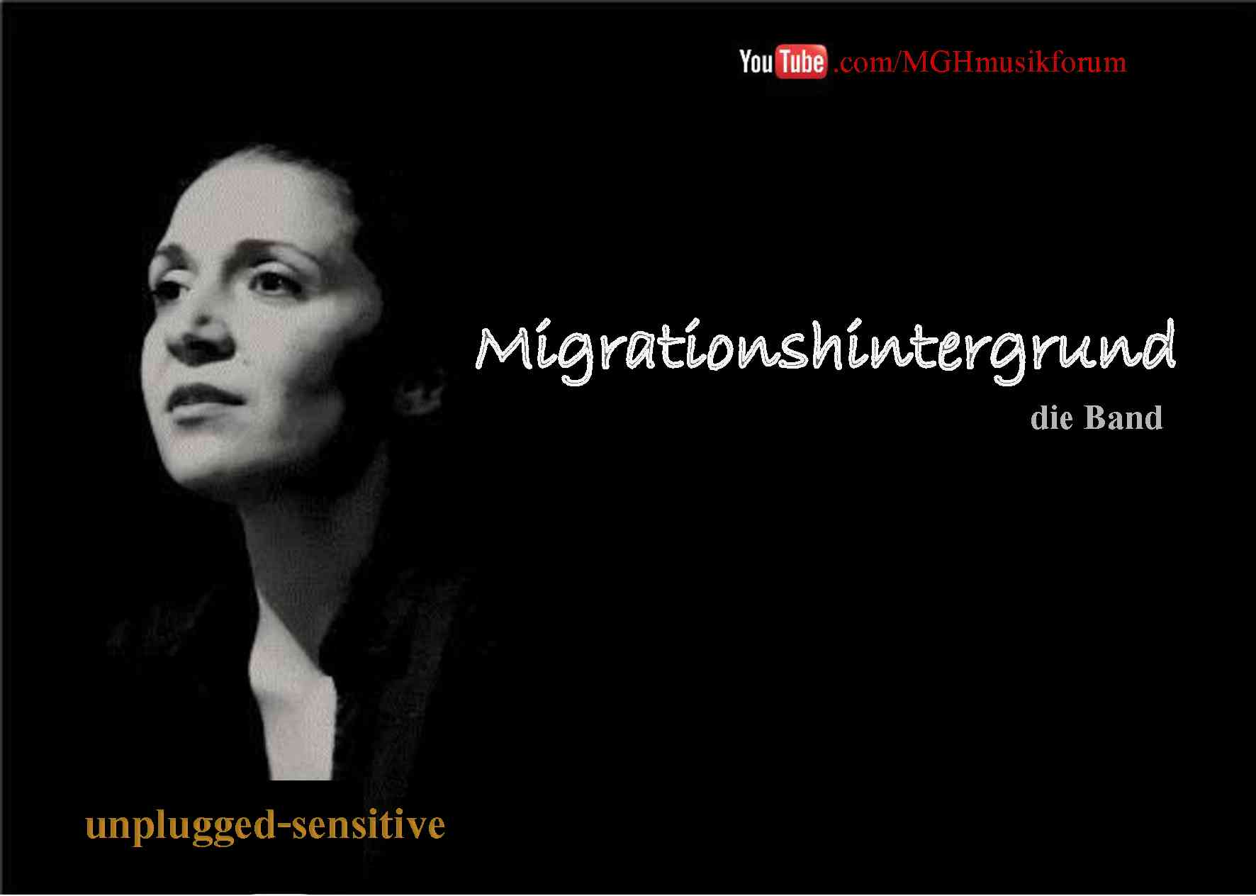 "Konzert: Unplugged Sensitive - Der feine Stil der Band ""Migrationshintergrund"""
