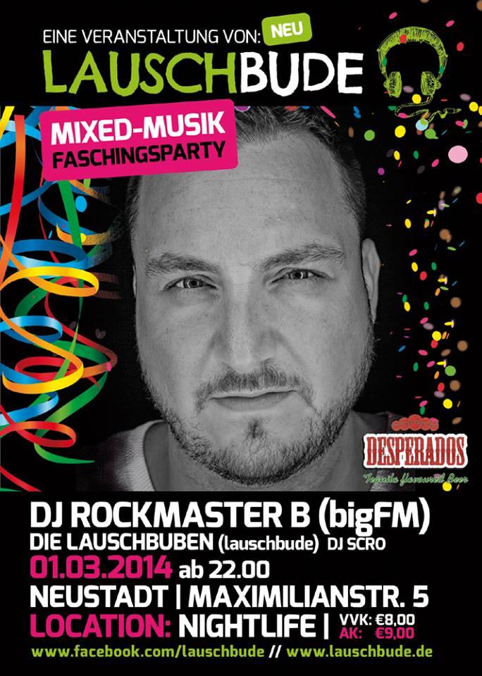Lauschbude Auftakt Mit Rockmaster B (Bigfm) & Die Lauschbuben