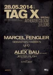 Tag X Spezial! /W Marcel Fengler // Alex Bau // Sebastian Habben // Liho // Jester Rush
