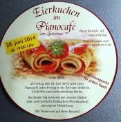 Eierkuchen Im Pianocafe Am Lietzensee In Berlin Am 20 06 2014