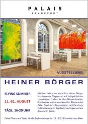 Ausstellung: Heiner Börger - Action Painting mit dem Helicopter