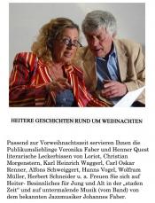 Veronika Faber & Henner Quest - Weihnachtliches