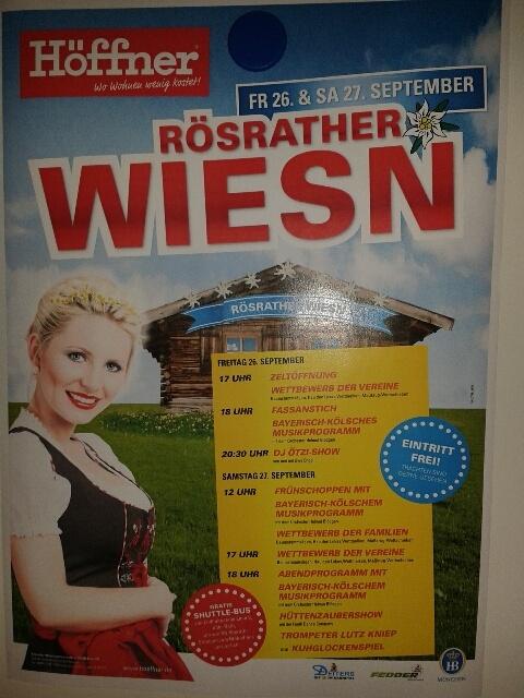 Oktoberfest Rösrather Wiesn In Rösrath Am 26092014 Möbel Höffner