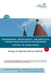 Seemannsheim - Kriegslazarett - Waldorfschule