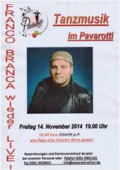 Franco Branca LIVE im Pavarotti