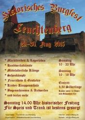 Historisches Burgfest Leuchtenberg