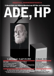Ade, HP - 3 Theaterabende zum Bühnenabschied von Hans-Peter Kurr
