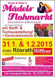 Stoff Und Tuchmarkt In Rosrath In Der Beheizten Veranstaltungshalle