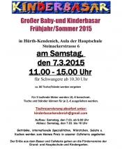 Grosser Baby- und Kinderbasar Herbst/Winter